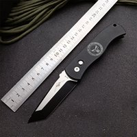 """PROTECH CQC7 TANTO AUTO Tactical Folding Knife 3.25"""" 154CM Outdoor Camping Hunting Pocket EDC Utility KNIVES"""