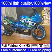 鈴木カタナGSXF 600 750 CC GSX600F GSXF750 GSXF-600 GSXF750 GSXF-600 GSX750F 98 99 00 01 02 GSXF-750 GSXF-750 GSXF-750 2000 2002 2000 2002 Body Factory Blue