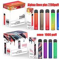 Kangvape onee stick alphaa زائد المتاح 1900 2200 نفث vape القلم كيت 1100mAh 6.2 ملليلتر البخار بانج xxl الهواء بار ماكس