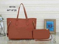 quality embossing Shoulder Open Bag Shopping Women Bags Lady Soft Oxidized Leather Straps Never Wrist Composite Purse Handbag 4C4P