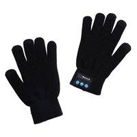 스키 장갑 따뜻한 터치 스크린 전화 블루투스 스피커 무선 스마트 야외 스포츠 T8