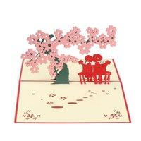 Greeting Cards 3D Handmade Postcard Gift Multi-styles Birthday Blank Paper Laser Cut Vintage Invitations Custom With Envelope