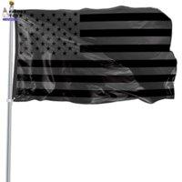 3x5ft черный американский флаг полиэстер без квартала не будет дан нам США историческая защита баннеральный флажок Двусторонняя крытая на открытом воздухе XX5