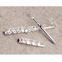 اليابان YFL-471 الفلوت المهنية cupronickel فتح C مفتاح 17 حفرة الفضة مطلي الآلات الموسيقية مع القضية والاكسسوارات