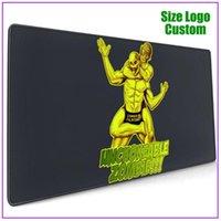 Mouse Pads & Wrist Rests Unchokeable Zombie Luchador Rear Naked Choke Bjj Jiu Jitsu Pad With Support Gel Personalized Custom Rgb Razer Long