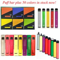 퍼프 바 플러스 담배 800 + 퍼프 일회용 vape 펜 550mAh 배터리 3.2ml 포드 카트리지 미리 채워진 한정판 기화기 장치