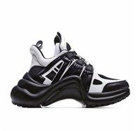 Lüks Marka Archlight Sneaker Luxurys Tasarımcılar Bayan Ayakkabı Eğitmenler Yüksekliği Artan Erkek Baba Gösterisi Tasarımcı Rahat Ayakkabı Boyutu 35-45