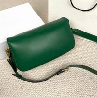 Almohada Diseñador Actualizado Bolsos de Bolsos Diseñador C Luxurys Tabbys Bolsa de Hombro Calidad Mujeres Pure Color Baquetas Bolsos Retro Hardware
