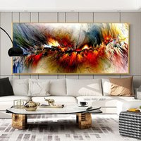 Abstract Clouds Painting Modern Home Decor Wall Art Pictures For Living Room Canvas Prints Colorful Posters And Prints Frameless