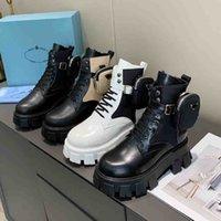 Diseñadores de mujeres ROIS BOOTS TOKLE MARTIN BOOT BOOTS BOTSS BOTSS NYLON ZAPATOS MILITARES INSPUERTOS Botas de combate con bolsas Tamaño 35-45