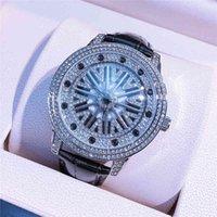Такие же часы дядя Питер Pan's Diamond FM Fortune превращает мужскую и женскую модную кварцу