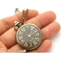 ساعات جيب العتيقة Watchnecklace سلسلة المفاتيح قلادة الطالب الروماني Watch9agn