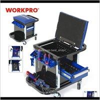 Электрический отвертчик WorkPro для ремонта автомобилей Набор инструментов рабочего стула Workbench сиденье T200916 V6R0N Achog