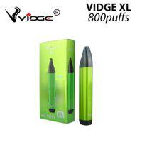 Dispositivo desechable de cigarrillo de Vidge XL PLAN VAPE 800 Puffs aprox. 3ML 500mAh Vapes Stick 6% 10 Opcionalis