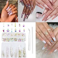 Nail Art Kits Kit Professional Gel Polish Set Multi Shapes Crystal Rhinestone Flatback Decoration Manicure Tool