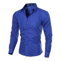 Mode 5XL Plus size marke-kleidung baumwolle herren kiothing solide weiche männer shirt long sleeve shirts casual slim fit männer kleid