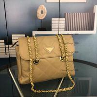 Designer de luxo bolsas de nylon moda bolsa de ombro corpo cruzado com corpo de ouro mulheres bolsas bolsa bolsa senhora senhora