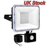 20W Led Motion Sensor Flood Lights Outdoor Floodlight, PIR Induction Lamp, Intelligent Light, 6000K, Cool White, Super Bright Waterproof Security