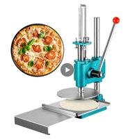 Mobile manuale Pizza Pasta macchine per macchine per il rullo Elettrodomestici da cucina Acciaio inossidabile per torta di pane