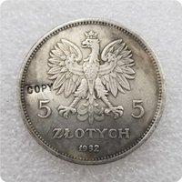 1932-POLAND-5-ZLOTYCH COPY commemorative coins-replica coins medal coins collectibles