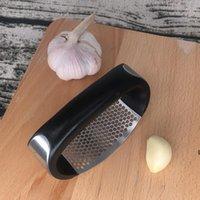 أدوات الخضار المحمولة الفولاذ المقاوم للصدأ الثوم الصحافة Chocoper اليد الثوم طاحونة DHD6198