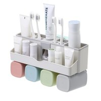Bathroom Accessories Toothbrush Holder Salle De Bain Banheiro Set Toothpaste Dispenser Accessori Bagno Badezimmer Decor Bath Accessory
