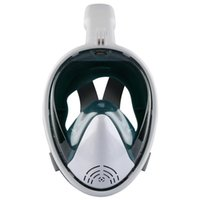 Diving Masks Full Face Scuba Mask Anti Fog Goggles Underwater Snorkeling Set Respiratory Wide View Swimming For Adults
