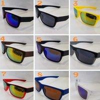 الصيف ماركة دراجة النظارات الشمسية الملونة في الهواء الطلق ركوب نظارات الشمس الرياضية uv400 windproof الأزياء انبهار المرايا اللون
