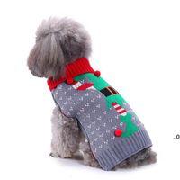 15 estilos Perro de mascotas Papá Noel Disfraces Vestido de Navidad Abrigos Funny Party Decoración de vacaciones Ropa para Sudaderas con capucha FWA7499