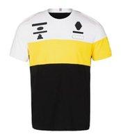 Fórmula 1 Camisa Polo Camisola Corrida Fãs de carro Personalizar a equipe de manga curta uniforme t-shirt jaqueta de rally macacões de esportes