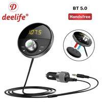 Voiture Bluetooth Kit mains libres Bluetooth Lecteur MP3 de l'émetteur FM Récepteur audio