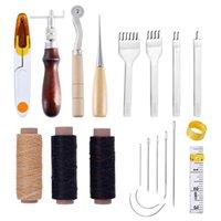 Outras artes e artesanato ferramenta artesanato de couro profissional costura Costurar pontos de escultura para iniciante kit de sela diy