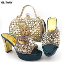 Dress Shoes Slip On For Women Wedding Shoe And Bag Sets Italian Nigerian To Match Party Pumps