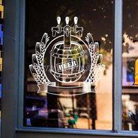 Stickers muraux Beer Shop Autocollant Craft Barrel Qualité Vintage Décor Signe Retro Bar Pulet Affiche Décalque Vivyle