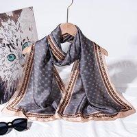 70% Rabatt auf Outlet Online Sale Nordic Style Silk Schal Frauen Vielseitig Literatur Thin Long Tuch mit Anzug Professionell