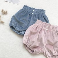 Shorts 0-6Y Fancy Kids Baby Girl Bloomers Fashion Spring Fall Born Toddler Soft Warm Velvet Pants Trousers