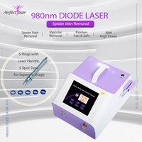 980nm diodo láser vascular araña vena terapia máquina de clavo hongo curativo dolor fisioterapia piel rejuvenecimiento dispositivo uso de salón