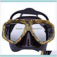 Snorkeling Water Sports & Outdoorsprofessional Myopia Scuba Diving Mask Anti Fog Swimming Masks Googles Drop Delivery 2021 Xtdz3