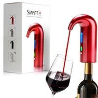 전기 와인 원터치 휴대용 주자 aerator 디스펜서 펌프 USB 충전식 사과주 디캔터 주택 사용을위한 Pourer 와인 액세서리