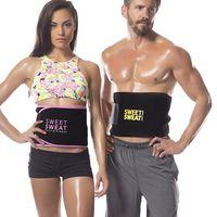 Waist Support Women Men Adjustable Protector Belt Neoprene Lumbar Back Sweat Fitness Trainer