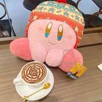 QD 일본 겨울 사랑 스타 Kabi 플러시 인형 베개 Kirby 게임 인형 쿠션 크리스마스 선물