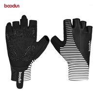 Cycling Gloves BOODUN Men Women's Half Finger Summer Shockproof Road Mountain Bike Bicycle MTB With Breathable Palm Part1