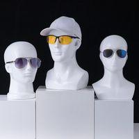 Perücke Gläser Dummy VR Hanging Hat Shelf-Anzeigen-Rack-Kinderrest-Männer- und Frauenkopfmodell