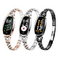 Women Smart Watch H8 Smart Bracelet Reloj Blood Pressure Heart Rate Monitor Fitness Tracker Sport Wristband For Lady