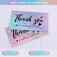 Thank You Cards With Watercolor Design For Supporting My Small Business Online, Retail Stores, Handmade K3NA Gift Wrap