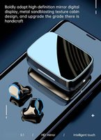 M9 TWS V5.0 Wireless Bluetooth Headphone Gaming Earphone Sports Music Earbuds LED Display Headset With 2000mAh Power Bank and Microphone