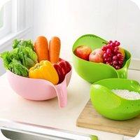Küchenwerkzeuge Reis Waschfiltersieer Kreative Kunststoff Bohnen Erbsen Nützlich Bequemes Werkzeug FWE6225