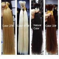 Human Hair For Micro Braids Bulk Hair No Weft Human Hair Braiding Bulk Straight Braiding