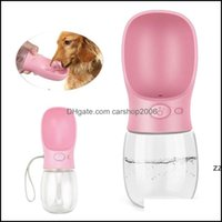 Bowls Feeders Supplies Home & Gardenfeeders 350Ml Portable Pet Dog Water Bottle For Small Large Dogs Travel Puppy Cat Drinking Bowl Bldog Di