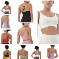 YOGA Kıyafet Şekillendirme Kıyafetler Egzersiz Spor Sutyen Vücut Geliştirme Tüm Maç Rahat Spor Push Up Sütyen Yüksek Kaliteli Kırpma Kapalı Açık Egzersiz Giyim Giyim Spor Tops